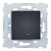 SOPIA Lichtwechselschalter mit Beleuchtung (schwarz-matt) 159377