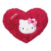 Hello Kitty Rood pluche Hello Kitty kussentje Rood