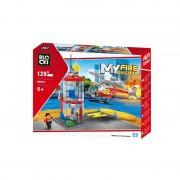Joc constructie Blocki, Platforma pompieri, 129 piese