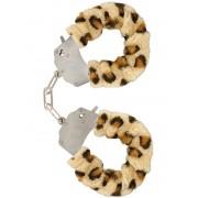 Toy Joy: Furry Fun Cuffs Plush, leopard