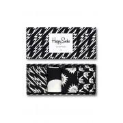 Happy Socks - Чорапки Black And White (4 бройки)