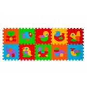 Puzzle animale - 10 buc Babyono copii 276