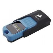 Corsair CMFSL3X2-512GB Unidad Flash USB USB Tipo A 3.0 (3.1 Gen 1) Negro, Azul Memoria USB (512 GB, USB Tipo A, 3.0 (3.1 Gen 1), 200 MB/s, Deslizar, Negro, Azul)
