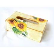 Cutie servetele de hartie - floarea soarelui 121633