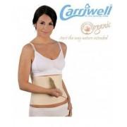 Banda Ajustable Posparto Belly Binder de Algodón Orgánico Talla S/M Color Natural