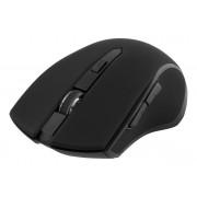 Deltaco optisk trådlös mus med skrollhjul, 5 knappar, svart