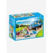 Playmobil 9278 Carro de lavagem para cães, da Playmobil azul medio liso com motivo