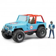 Bruder Off-Road Vehicle with Driver Jeep Cross-country 1:16 02541