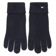 Дамски ръкавици TOMMY HILFIGER - Essential Knit Gloves AW0AW09027 CJM