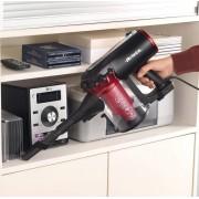 Ariete Handy Force Rbt aspiratore portatile Senza sacchetto Nero, Rosso