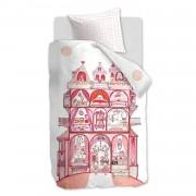 Beddinghouse Kids Dekbedovertrek Sweet Palace (Pink) - 140x200/220 Maat: 1-Persoons 140x200/220 cm