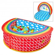 Worlds Apart 2-in-1 Pop-up Ball Pit Rainbow 100x76x30 cm Multicolour
