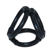 Diverse Hersteller Tri Ring Cock Cage Black