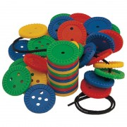Joc de indemanare Galt Fun Buttons, contribuie la dezvoltarea coordonarii ochi-mana, 3- 6 ani