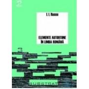 Elemente autohtone in limba romana - I.I. Russu