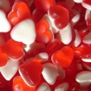 Haribo Heart Throbs Love Hearts Gummy Sweets