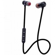 Wireless Sports Bluetooth Magnet Headphone for Android and iOS Mobiles(Black)