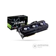 Inno3D PCI-E Nvidia GTX1070 TI iChill X4 (8192MB, DDR5, 256bit, 1607/8000Mhz, DVI, 3xDP, HDMI) grafička kartica
