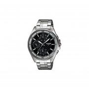 Reloj Casio LTP-2086D-1A Para Dama- Plateado Y Negro
