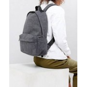 Weekday Felt Feel Backpack - Grey