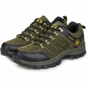 EB TH61252-37 Outdoor Lace-up Botas De Montaña Deporte Zapatos De Hombre Para Acampar Escalada Verde - Green