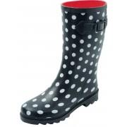 Chuva Stip regenlaarzen Schoenmaat: 37 zwart/wit