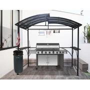 Abri pour barbecue 2,63x1,50m