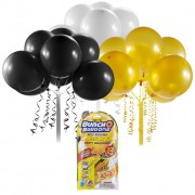 BUNCH O BALLOONS PARTY BALLOONS SET REFILL NEGRU/AURIU/ALB