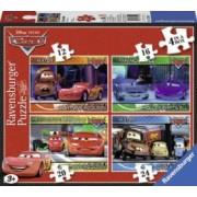 PUZZLE DISNEY CARS 4 BUC IN CUTIE 12162024 PIESE Ravensburger