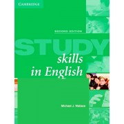 Study Skills in English Student's Book: A Course in Reading Skills for Academic Purposes, Paperback/Michael Wallace