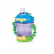 Неразливаща се чаша с дръжки Nuby Monster, 240 мл., 6м+, 262296