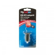 HYCELL USB CAR CHARGER 5V DC 1000mA CARICATORE PER AUTO USB