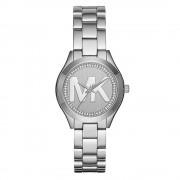 Michael Kors orologi Mk3548 Mini pista sottile d'argento Stainless ...