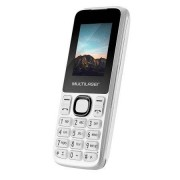 Multilaser Celular New Up Dual chip com câmera e Bluetooth MP3 Branco Multilaser - P9033 P9033