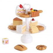 Happy Family Cookies And Desserts Tower Balance Game Play Food Toy Set For Kids