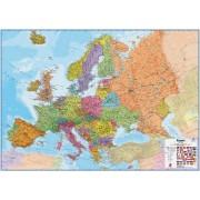 Magneetbord wandkaart Europa - Europe, HUGE 170 x 124 cm| Maps International