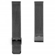 Sidegren Bracelet de montre gris cendré en mailles métalliques