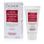 Guinot creme nutrition confort crema viso nutrimento e protezione continua 50 ml pelle secca