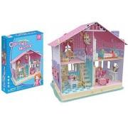 Puzzle 3D CubicFun CBF4 Deram Dollhouse Carries Home