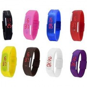 TRUE COLORS LED MULTI COLOR UNISEX COMBO LIMITED STOCK FAST SELLING OUT Digital Watch - For Boys Girls Men Women