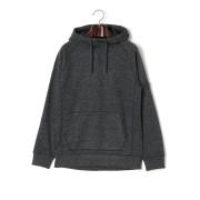 【49%OFF】Burton Crown Bonded Pullover Hoodie スウェット フリースボンディング パーカ ブラック s ファッション > メンズウエア~~その他トップス