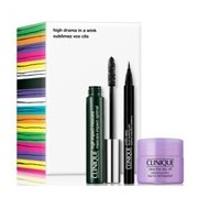 High impact máscara black 7ml+take the day off 15ml+quickliner intense ebony 14g - Clinique