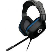 "Gioteck HC-2 Biauricular Diadema Negro, Azul Auricular con micrófono Auriculares con micrófono (Consola de Juegos, Biauricular, Diadema, Negro, Azul, Alámbrico, 3.5 mm (1/8""))"