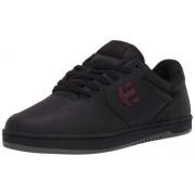Etnies Marana Crank Zapatos de Skate para Hombre, Negro/Rojo, 7.5 US
