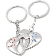 Faynci Love you inter connecting couple love Key Chain Gifting for Valentine Day/Birthday