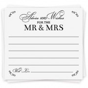Advice Cards Advice for the Bride Wedding Advice Cards | Wedding Activity & Bridal Shower Games | 40 Cards