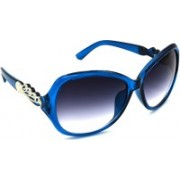 Redleaf Oval, Rectangular, Round Sunglasses(Grey, Clear)