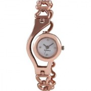 5Star Online Round Dial Rose Gold Analog Watch For Women by miss