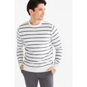 C&A Fijngebreide trui, Blauw, Maat: 3XL