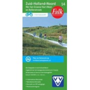 ZUIDHOLLAND NOORD 14 CYCLE MAP (9789028724488)